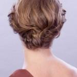 hochsteckfrisuren kurz feines haare
