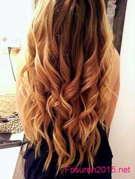neue langhaarfrisuren 2015 elegante haare