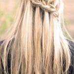 franzosisch geflochtene frisuren blond