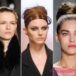 herbst winter 2015-2016 frisuren geflochtene hochsteckfrisuren trends