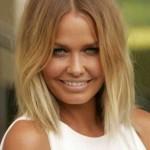 ombre hair bei blonden kurzen haaren