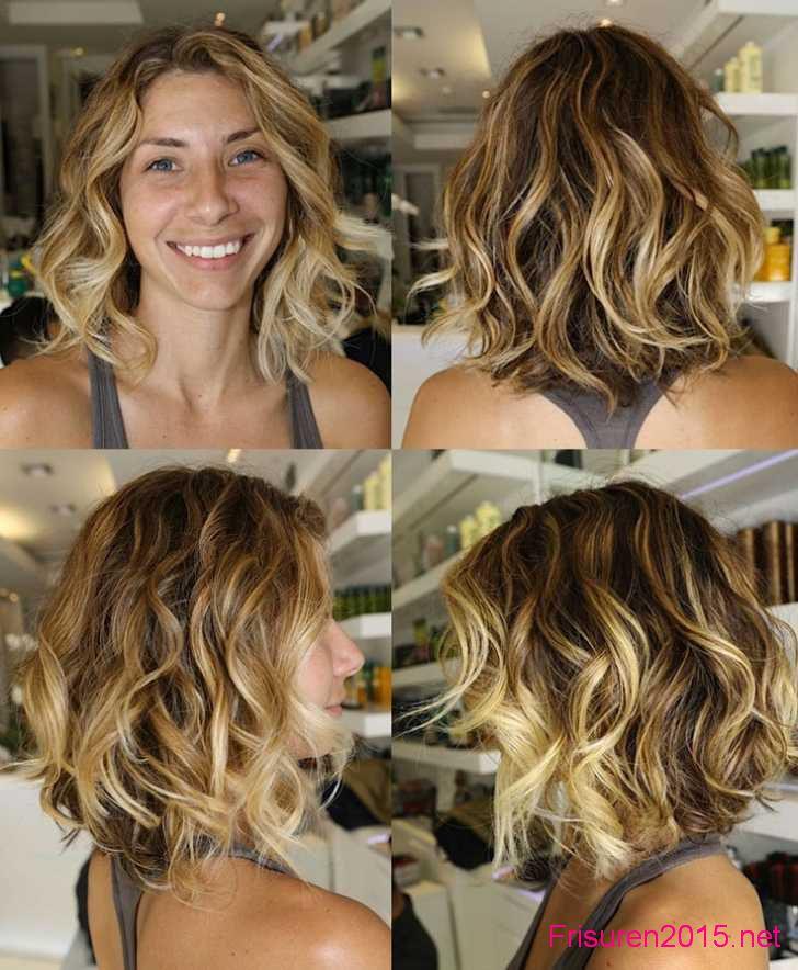 ombre hair bei kurzen haaren frauen