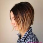 schone ombre hair bei kurzen haaren