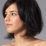 brunnette fabelhafte kurze haare