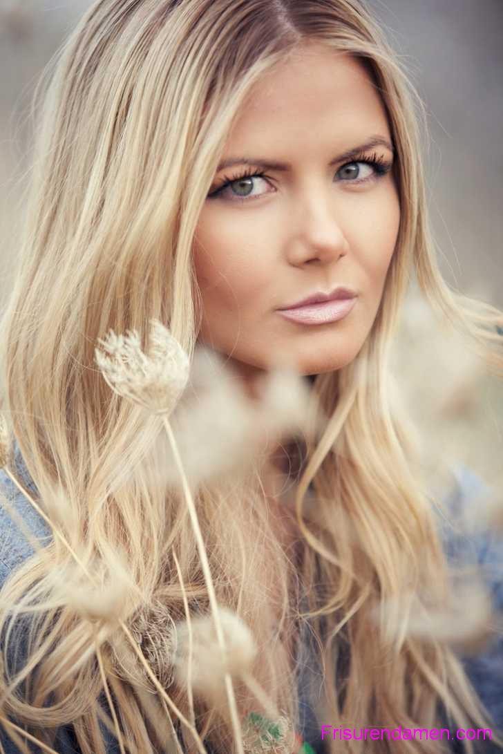 lange haare blond haarfarben tipps