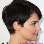 brunetten kurze frisuren fuer runde gesichter