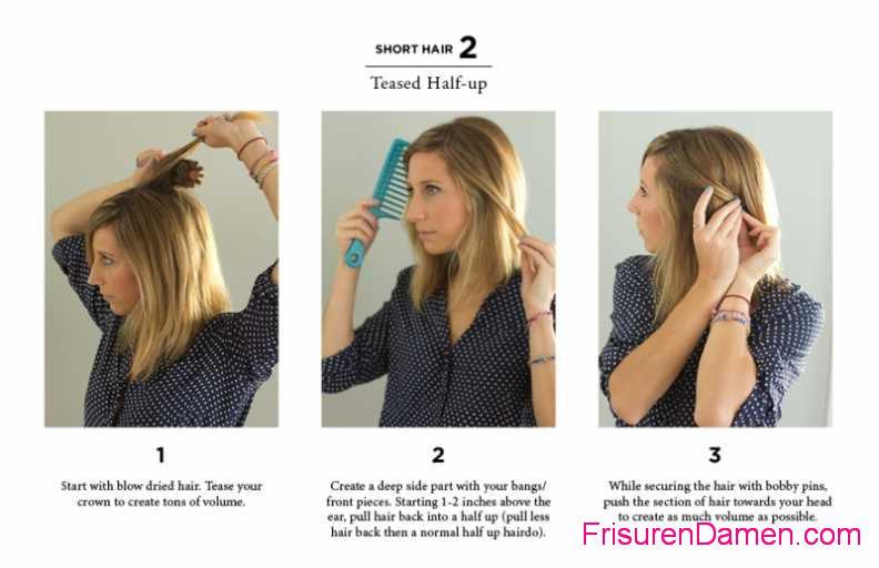 einfache mittellange frisuren