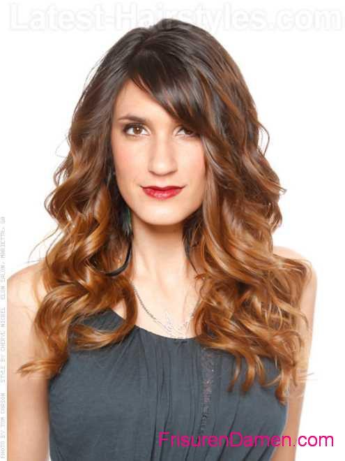karamell ombre haarfarben
