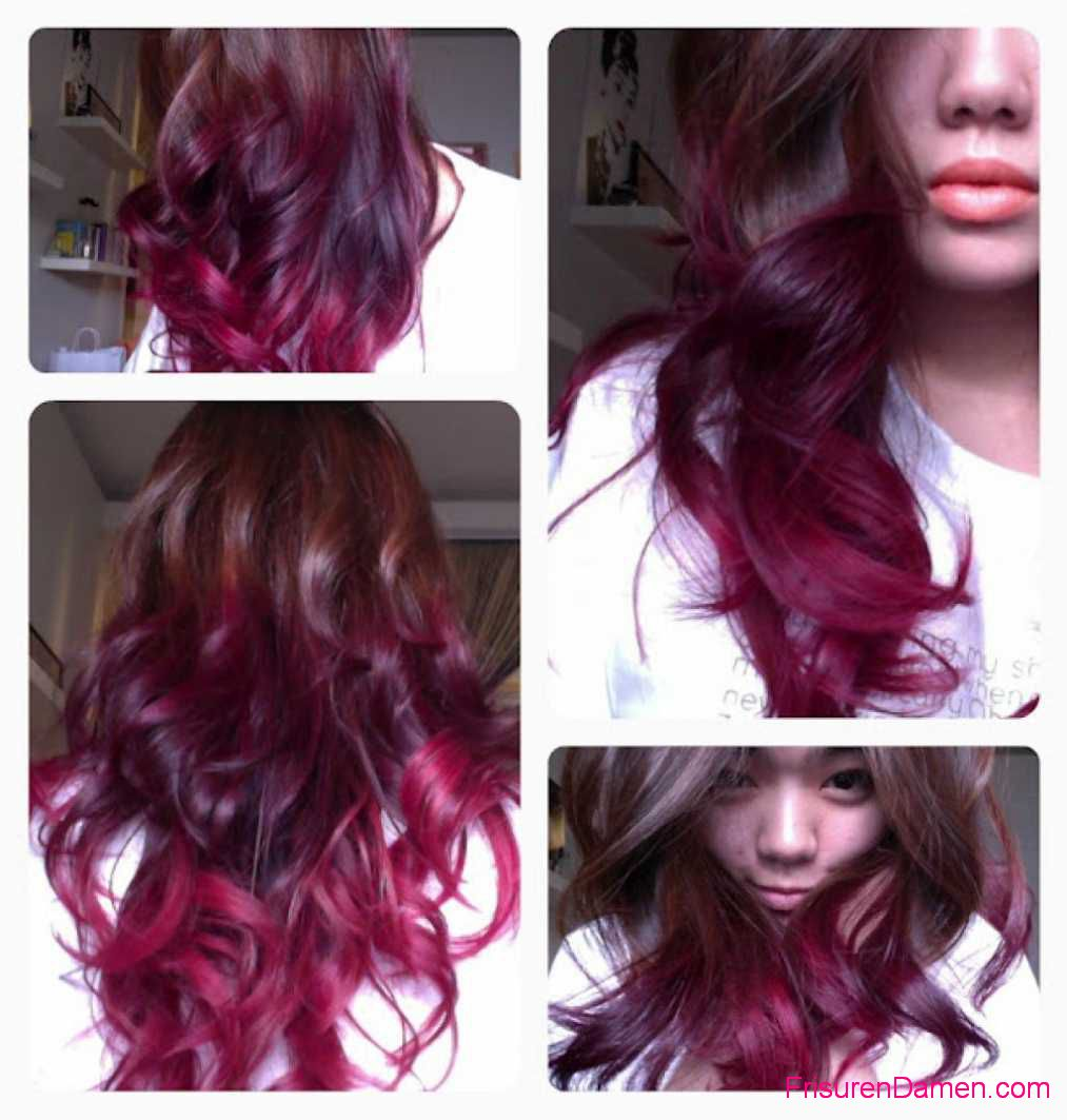 ombre haarfarbe loreal