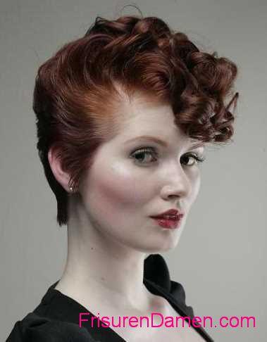 retro frisuren fur kurze haare