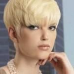 blond bob frisuren kurze haare privat
