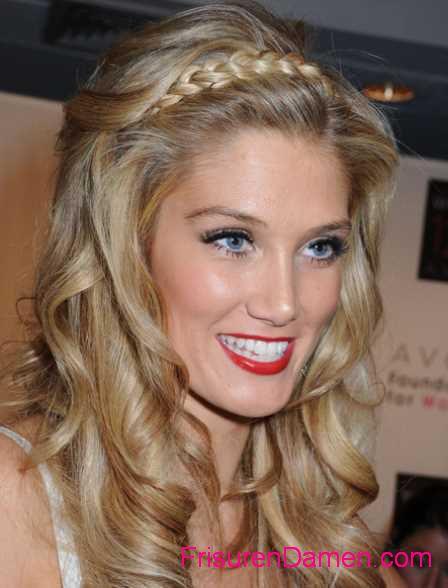 blondine zopf frisuren mit langen haaren