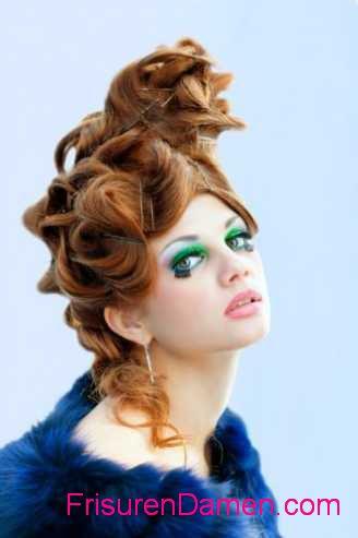 moderne dirndl frisuren kurze haare