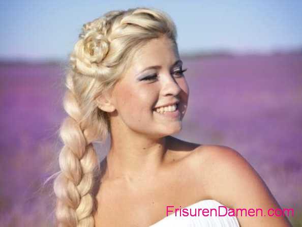 neue dirndl frisuren zopf frisuren mit langen haaren 2015