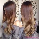dunkelblond ombre hair frisuren