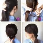 einfache frisuren fur lange haare zum selber machen anleitung (5)
