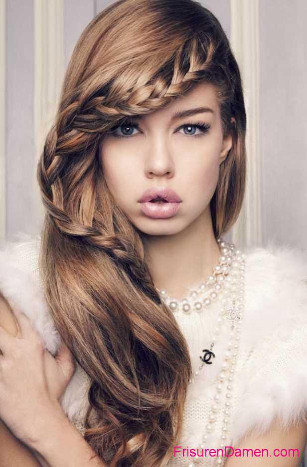 flechtfrisuren fur lange haare zum selber machen