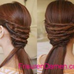 schone frisuren fur lange haare zum selber machen anleitung (5)