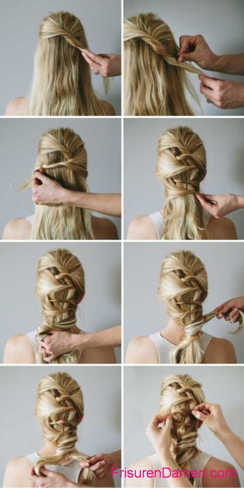 schone frisuren lange haare anleitung (1)