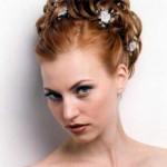 rote hochzeitsfrisuren kurze haare