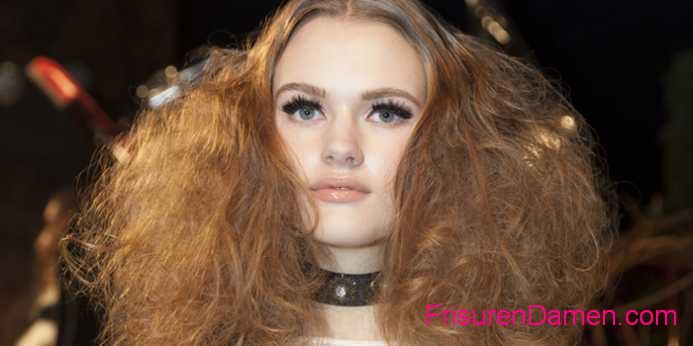 damenfrisuren 2016 lockige trends