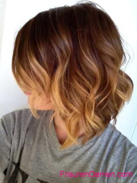frisuren 2016 trends damen ombre haar
