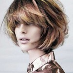 frisuren messy bob 2016