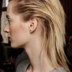mittellange haare mit schnelle frisur fur nasse haare
