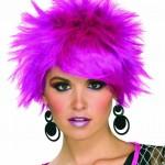 kurz lila frisuren pixie