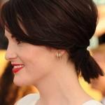 pferdeschwanze ponytail frisuren kurze haare