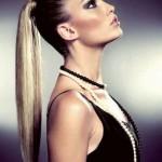 neue ponytail frisuren 2015