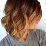 ombre hair bei kurzen haaren