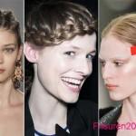 zopfe frisuren herbst winter 2015-2016 lange frisuren trends