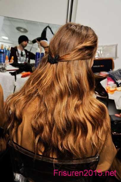 lockenfrisuren frisuren ideen lange haare