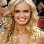 blond haarfarben tipps mittellange frisuren