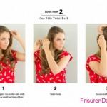 einfache frisuren lange haare
