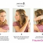 einfache frisuren mittellange haare