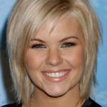 blondine bob frisuren kurze geschichtete haare