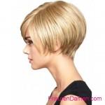 blondine sommerfrisuren fur kurze haare