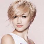 blondine tolle frisuren kurze haare