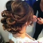 elegante hochsteckfrisuren lange haare