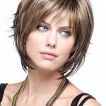 geschichtete kurze haare bob frisuren