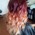 blond rote frisuren fur ombre hair