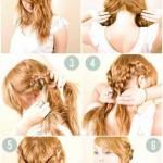 einfache frisuren zum selber machen fur lange haare (2)