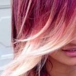 frisuren fur ombre hair rosa