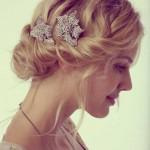 Kurz Hochzeit Frisuren fur feines Haar