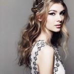 romantische frisuren lange haare
