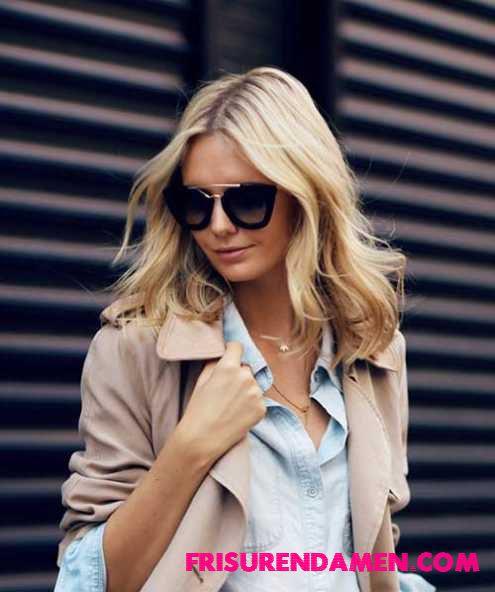 neue mode frisuren damen